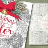 Christmas to Color-A coloring book by Mary Tanana